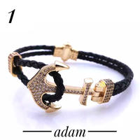 Anchor luxury bracelet