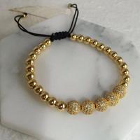 luxury globo bracelet