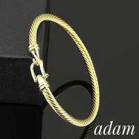 simple F bracelet