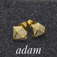 Stile di diamante Orecchini