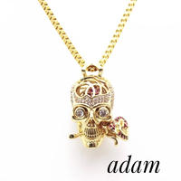 Scull Rose necklace