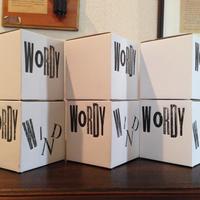 """WORDY  WIND"" wind chime (ワーディ・ウィンド風鈴)"