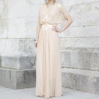 1900 England Silk gown&dress  set