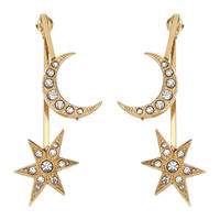 MOON&STAR solid pierce (gold)