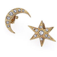 STAR&MOON earring/pierce (gold)