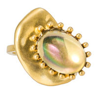 CAMELEON cabochon ring