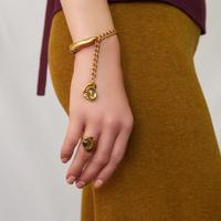 CAMELEON cabochon bracelet
