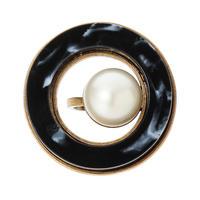 RETRO round ring (gold)