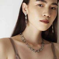 POMPEII metal short necklace