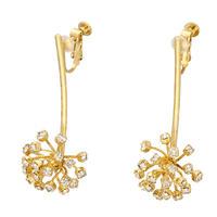 FILIGREE  Dahlia swing earring/pierce