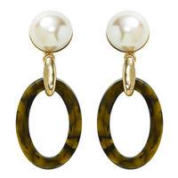 SAFARI pearl earring