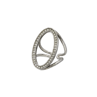 LE MONDE oval ring