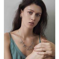FILIGREE flower adjuster necklace(gold)