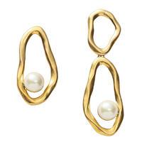COSMO asymmetry pierce (gold)