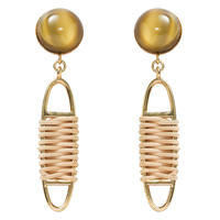 FRAGMENT rattan pierce/earring(gold)
