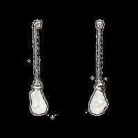 POMPEII baroque pearl pierce