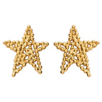 CUTSTEEL star solo earring (gold)