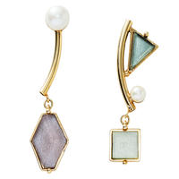 VITRAIL mobile pierce/earring(gold)