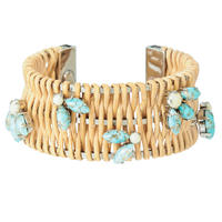 TROPIC rattan bangle(wide)