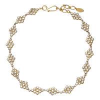 DIAMANTE crystal necklace
