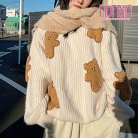 ジンジャーマン熊セーター