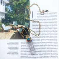 Greek turquoise necklace
