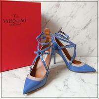 VALENTINO Garavani ヴァレンティノ ガラヴァーニ パンプス ブルー