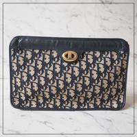 Dior オールドディオール ビンテージ トロッター クラッチバッグ