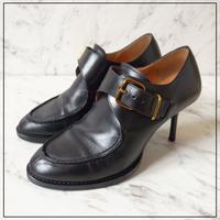Pippi  ピッピ レザーヒール ブーティ パンプス 革靴 36 23cm
