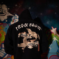 Iron flow hoodie