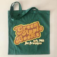 GREEN APPLE Books オリジナル GROOVY GREEN LIGHTWEIGHT TOTE