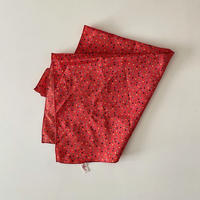 vintage scarf 「Caro Laurie」カラフルなポルカドットスカーフ