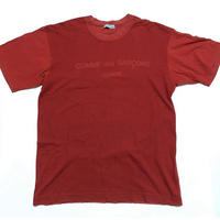 AD2002 COMME des GARCONS HOMME Switching logo T-shirt size free