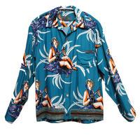 14SS PRADA Hawaiian shirts blouson size S