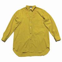 80's Yohji Yamamoto POUR HOMME Embroidery oversize shirt Size M