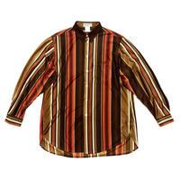 "97AW Yohji Yamamoto POUR HOMME ""蝋人形期"" Stlipe oversize shirts Size M"