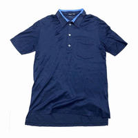 98ss HELMUT LANG Blue collar polo shirt size M