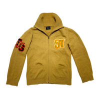 "05AW NUMBER (N)ine ""THE HIGH STREET"" Patch knit jacket Size 4"
