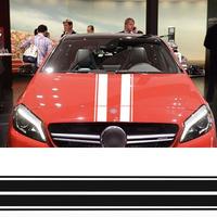 メルセデスベンツ用 Mercedes Benz ステッカー スタイリング ボンネット  A C CLA GLA GLC クラス