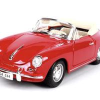 【新品】1/18 1961 ポルシェ 356B Porsche モデルカー レッド
