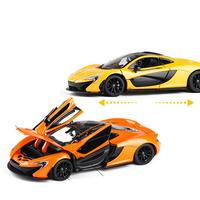 【新品】1/24 マクラーレン P1 McLaren モデルカー オレンジ イエロー