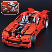 レゴ互換品  テクニック スーパーカー レッド レゴブロック互換