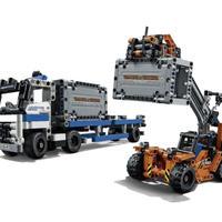 レゴ互換品 コンテナトラック ローダー セット テクニックシリーズ LEGO互換