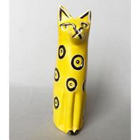 ソープストーン 黄色の小さな猫ちゃん