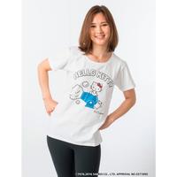 泡ハローキティTシャツ
