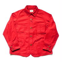 Boncoura Railroad Jacket Red Moleskin