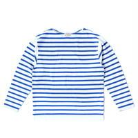 Boncoura Breton Shirt Blue × White