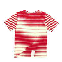 Russian Military Stripe S/S T-Shirt Red