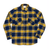 Boncoura Flannel Shirt Yellow Tartan