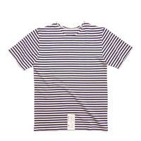 Russian Military Stripe S/S T-Shirt Navy